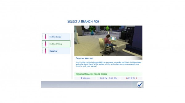 Mod The Sims: Fashion and Modelling Career   Design by DiamondVixen96