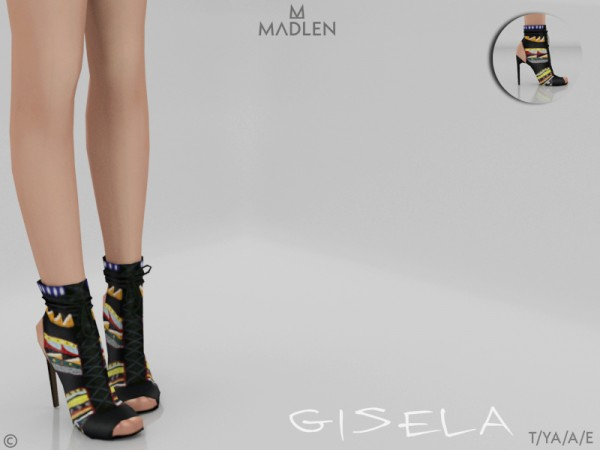 The Sims Resource: Madlen Gisela Shoes by MJ95