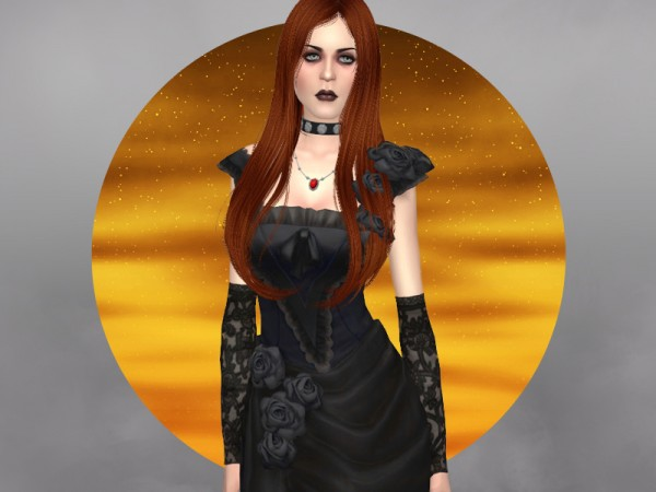The Sims Resource: Gentle darkness   gloves by WistfulCastle