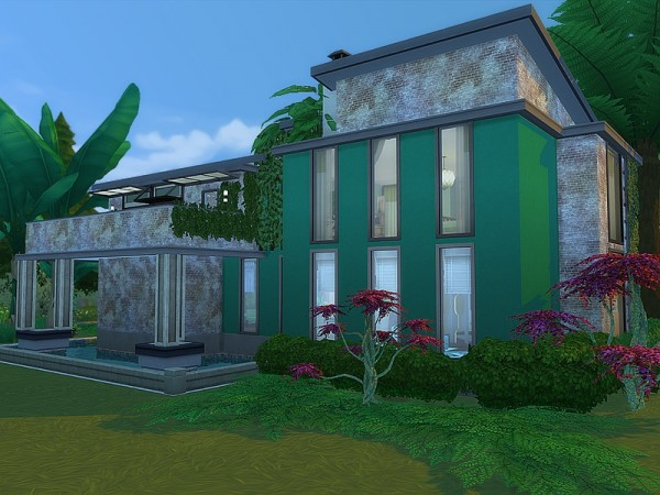 The Sims Resource: Elza Hideaway house by Ineliz