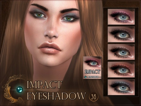 The Sims Resource: Impact Eyeshadow by RemusSirion
