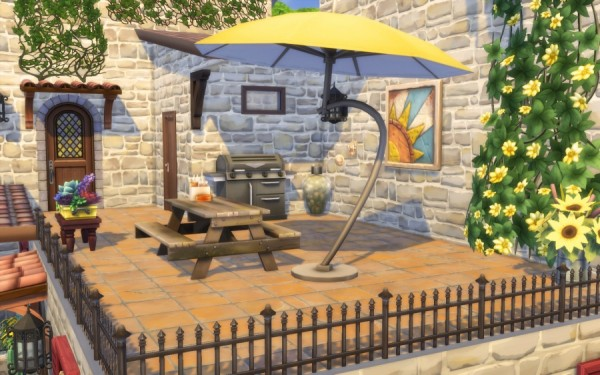 Sims Artists: Azucena house