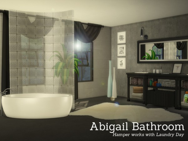 The Sims Resource: Abigail Bathroom by Angela
