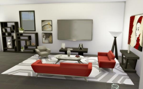 Via Sims: House 40   Modern Small