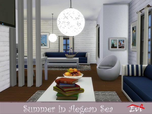 The Sims Resource: Summer in the Aegean Sea by evi