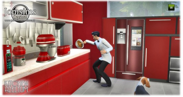 Jom Sims Creations: Azeltum kitchen
