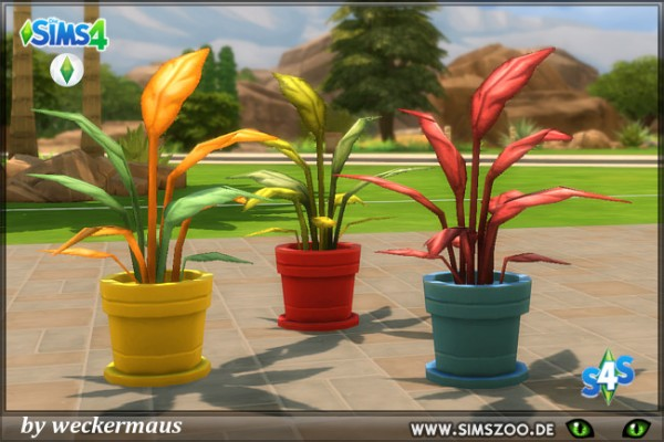 Blackys Sims 4 Zoo: Plants 3 by weckermaus