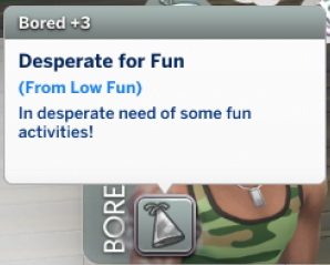 Mod The Sims: Low Fun Is Boring by Nies Po