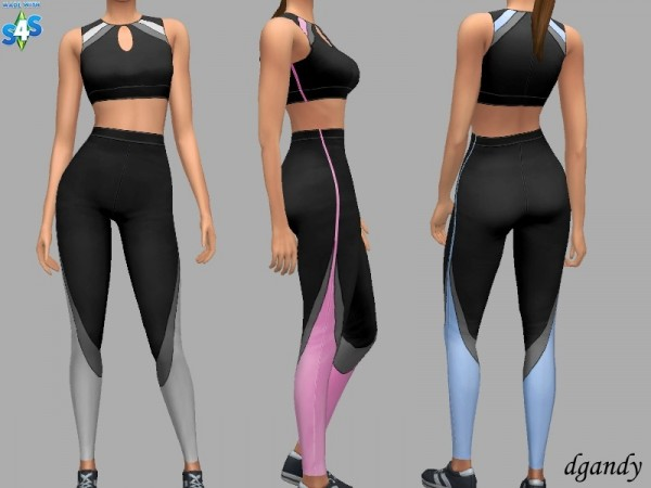 The Sims Resource: Athletic Outfit   Gina by dgandy