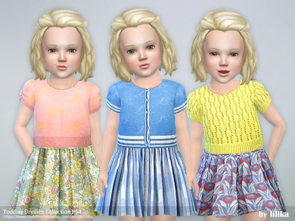 The Sims Resource: Dresses Collection P54 by lillka