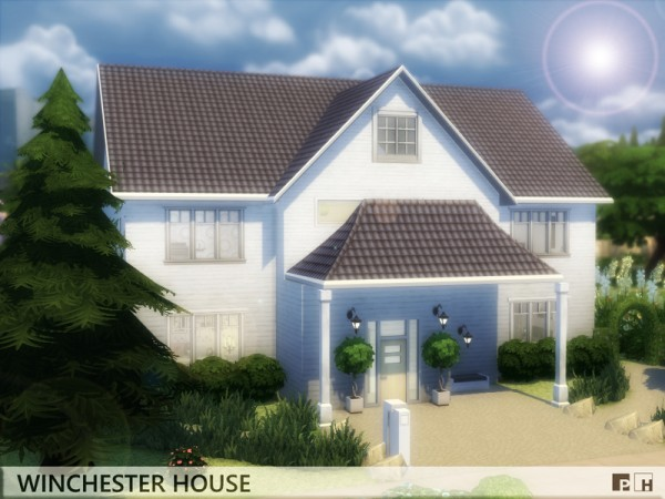 The Sims Resource: Winchester House by Pinkfizzzzz