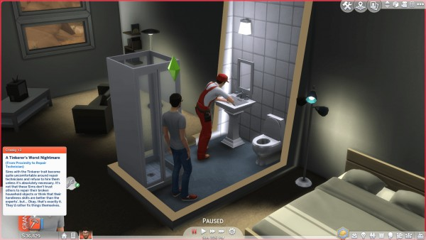 Mod The Sims: Tinkerer Trait  by SimplyInspiredSims4