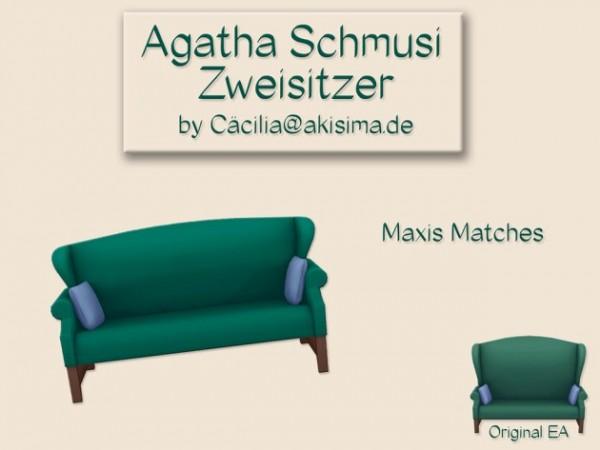 Akisima Sims Blog: Agatha Schmusi two seater