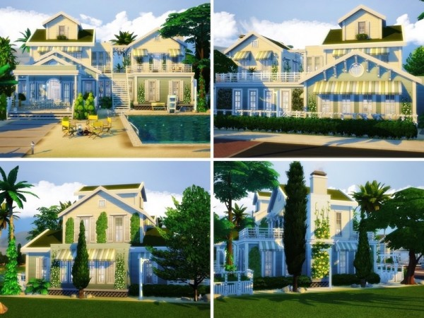 The Sims Resource: Summer Beach House by MychQQQ