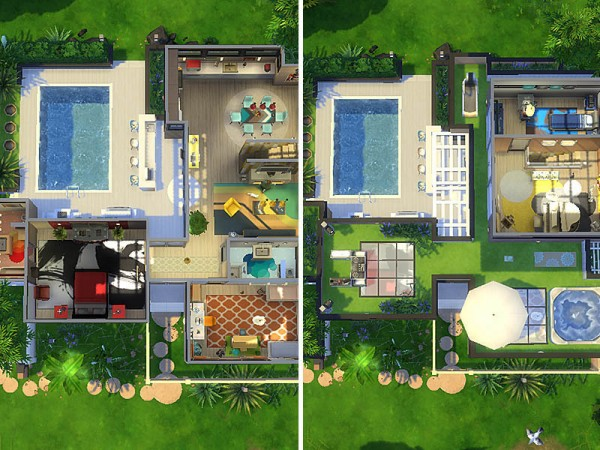 The Sims Resource: Little Face house by dasie2