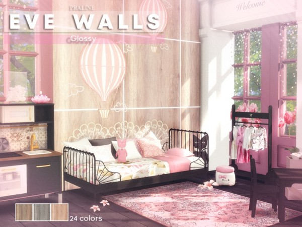 The Sims Resource: EVE Walls by Praline Sims