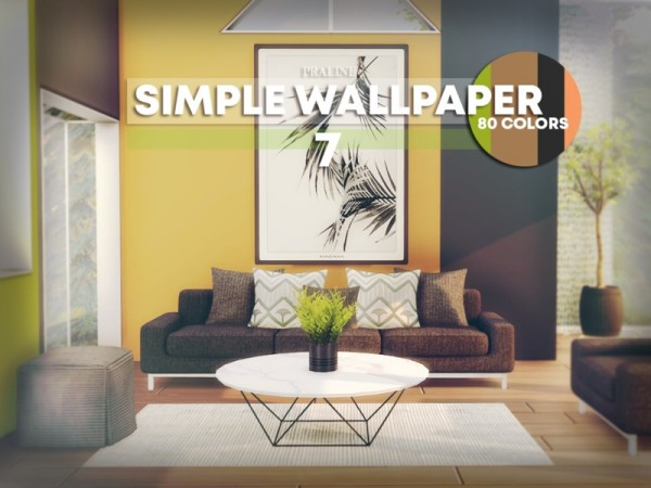 The Sims Resource Simple Wallpaper By Pralinesims Sims