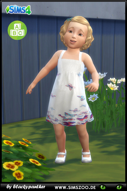 Blackys Sims 4 Zoo: Summer dress 3 by blackypanther