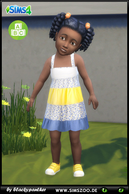 Blackys Sims 4 Zoo: Summer dress 2 by blackypanther