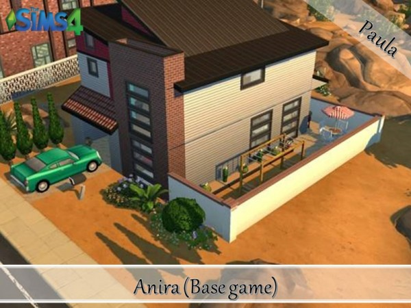 The Sims Resource: Anira house by PaulaBATS