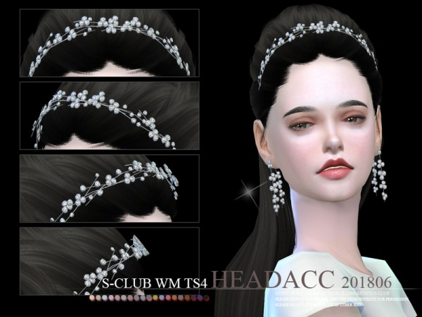 The Sims Resource: Headacc F 201806 by S Club