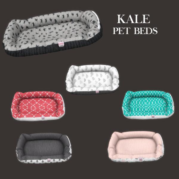 Leo 4 Sims: Kale pet bed
