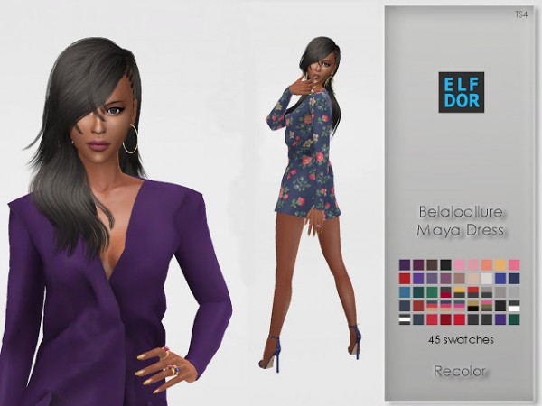 Elfdor: Maya Dress Recolor