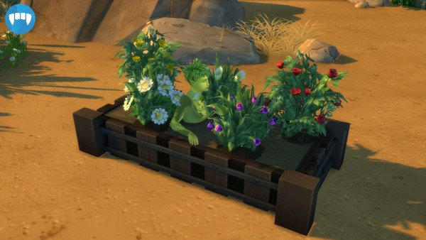 Mod The Sims: Plant Sims Gardening Bed by S`ri