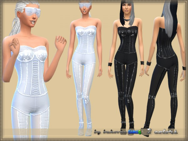 The Sims Resource: Overalls Future by bukovka