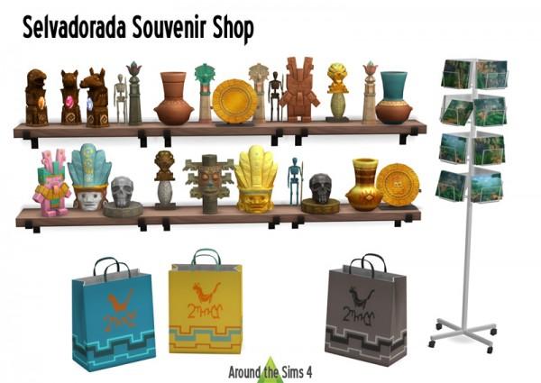 Around The Sims 4: Selvadorada Souvenir Shop