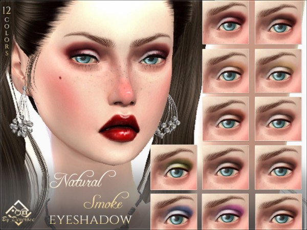 The Sims Resource: Natural Smoke Eyeshadow by Devirose