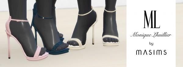 MA$ims 3: Platform Sandals