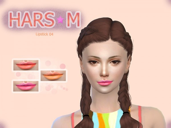 The Sims Resource: Lipstick 04 by Mew Crocus