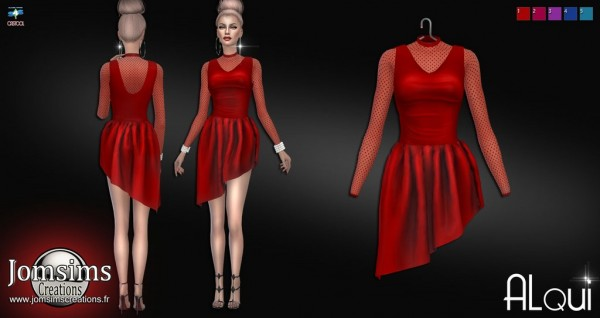Jom Sims Creations: Alqui dress