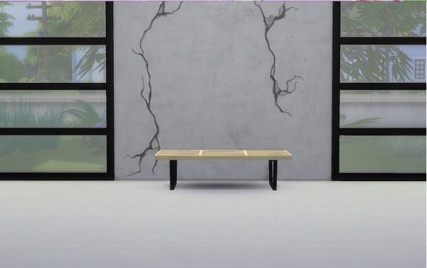 Meinkatz Creations: Nelson bench