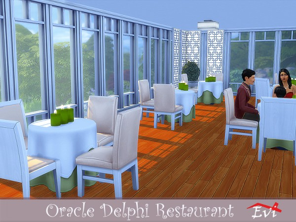 The Sims Resource: Oracle Delphi Restaurant by evi