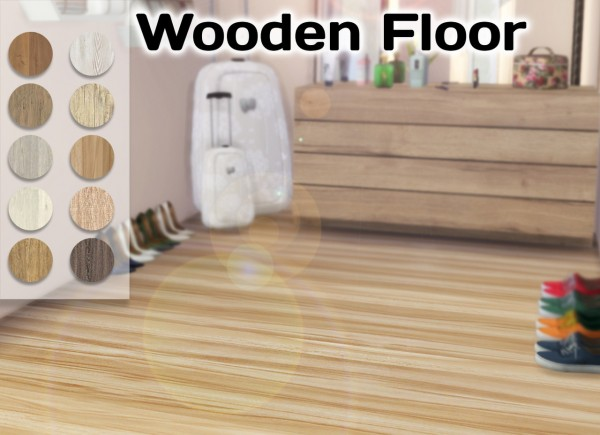 Simming With Mary: Wooden Floor