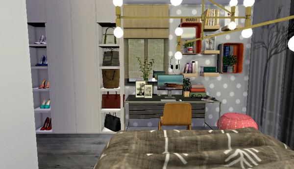 Lafleur 4 Sims: House boreau