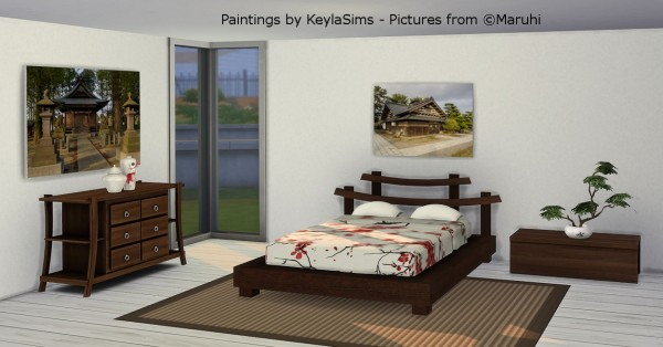 Keyla Sims: Paintings and Wallpapers