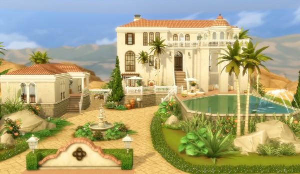 Via Sims: Oasis Springs house