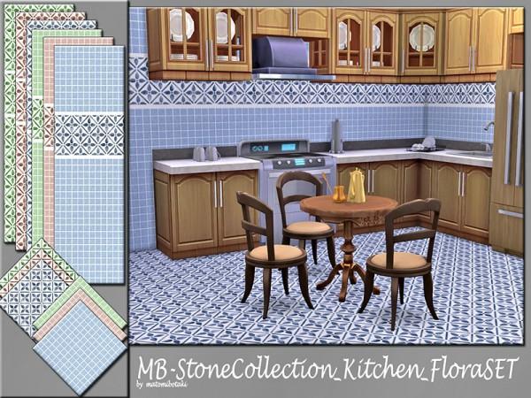 The Sims Resource: Stone Collection Kitchen Flora set by matomibotaki