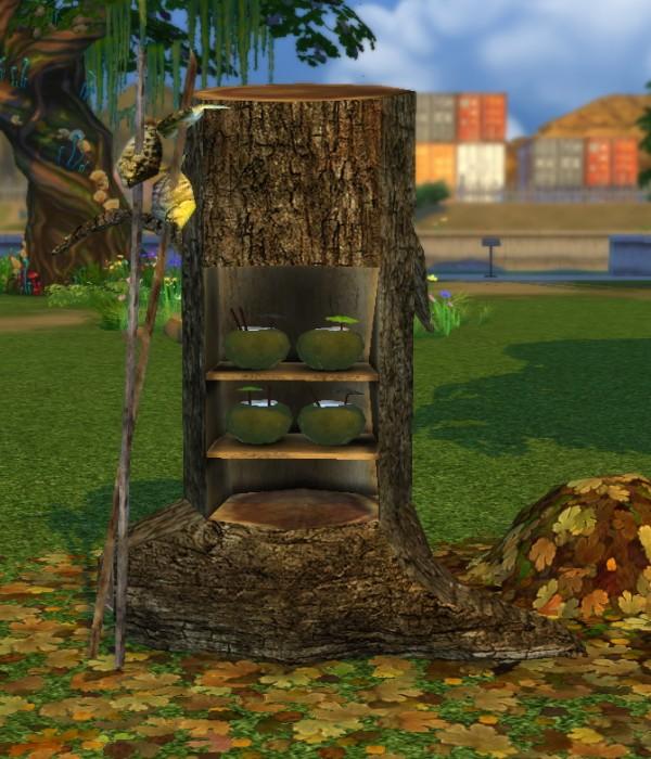 Simsworkshop: Forest Fantasy Fridge by BigUglyHag