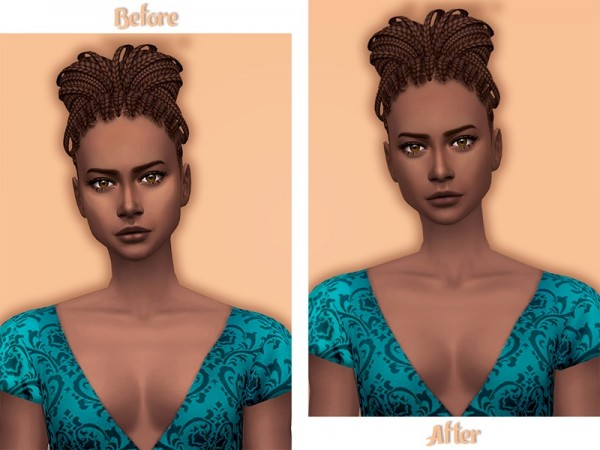 The Sims Resource: Mabelle Skinblend Forehead Wrinkles by Nords