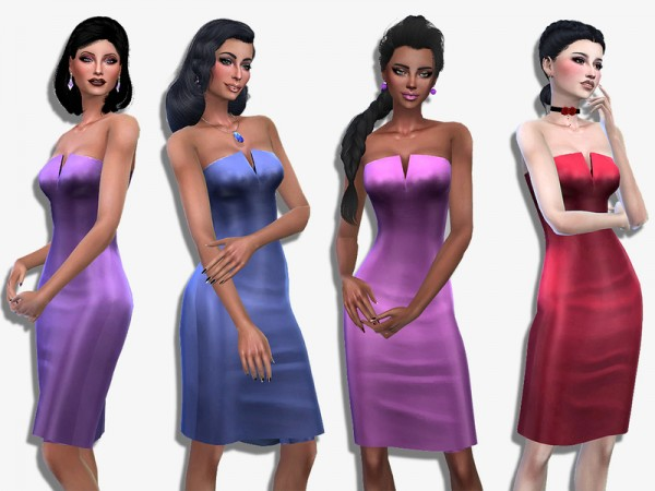 The Sims Resource: Sophie dress by Simalicious