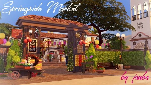 Jenba Sims: Springside Market