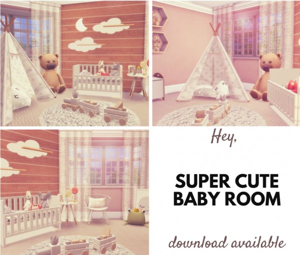Liily Sims Desing: Cozy Baby Room