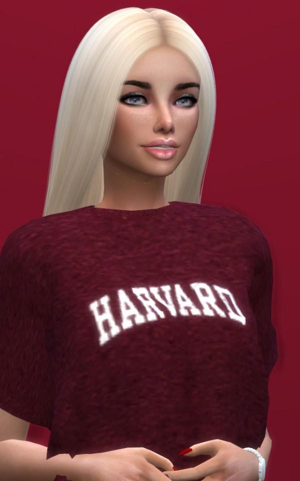 Models Sims 4: Julia Davis