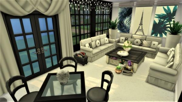 Agathea k: Paris Chic livingroom