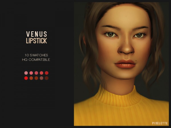 The Sims Resource: Venus Lipstick by pixelette