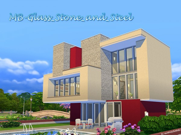 The Sims Resource: Glass Ston and Steel by matomibotaki